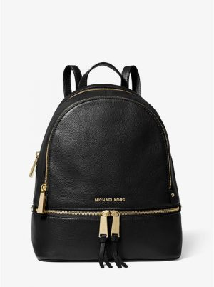 MICHAEL KORS 30S5GEZB1L RHEA LEATHER BACKPACK